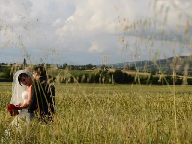 Il matrimonio di Antonio e Martina a Asciano, Siena 116