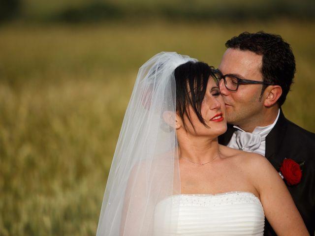 Il matrimonio di Antonio e Martina a Asciano, Siena 117