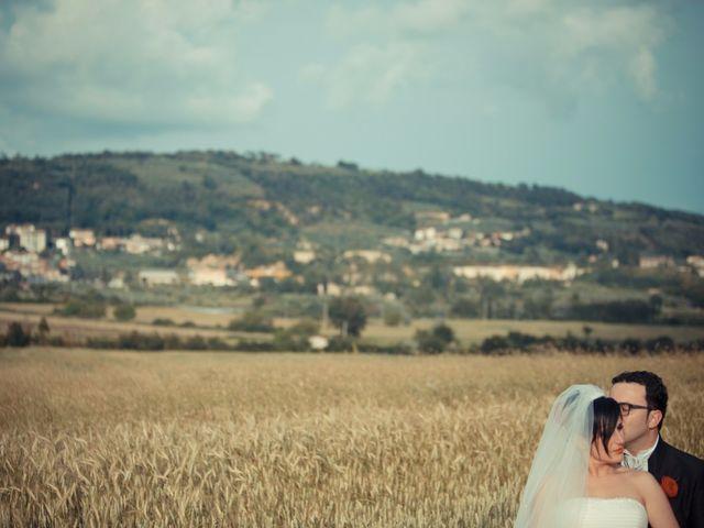 Il matrimonio di Antonio e Martina a Asciano, Siena 118