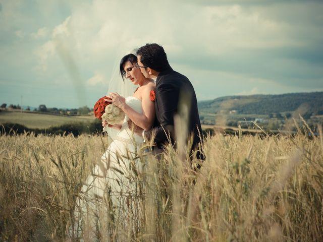 Il matrimonio di Antonio e Martina a Asciano, Siena 119