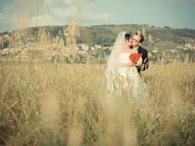 Il matrimonio di Antonio e Martina a Asciano, Siena 120