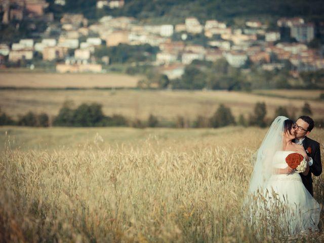 Il matrimonio di Antonio e Martina a Asciano, Siena 121