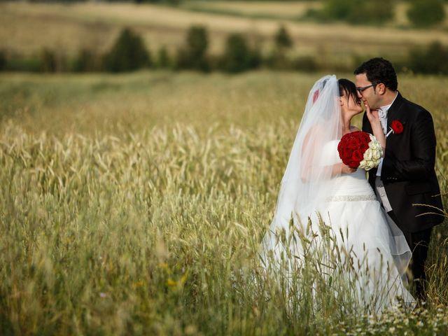 Il matrimonio di Antonio e Martina a Asciano, Siena 122