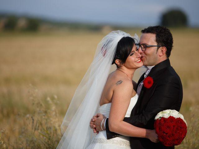 Il matrimonio di Antonio e Martina a Asciano, Siena 126