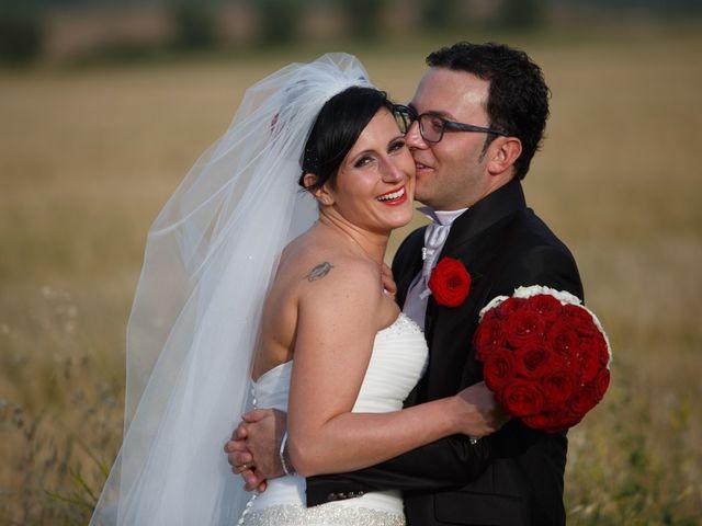 Il matrimonio di Antonio e Martina a Asciano, Siena 127