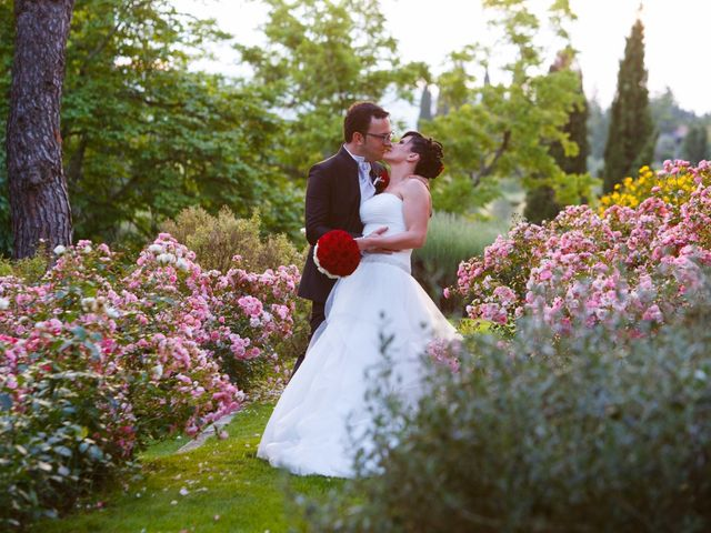 Il matrimonio di Antonio e Martina a Asciano, Siena 139