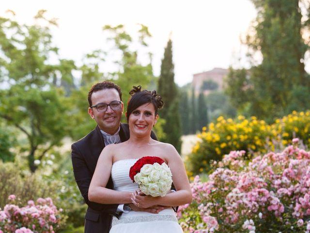 Il matrimonio di Antonio e Martina a Asciano, Siena 141