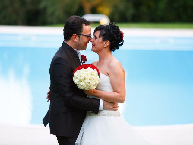 Il matrimonio di Antonio e Martina a Asciano, Siena 143