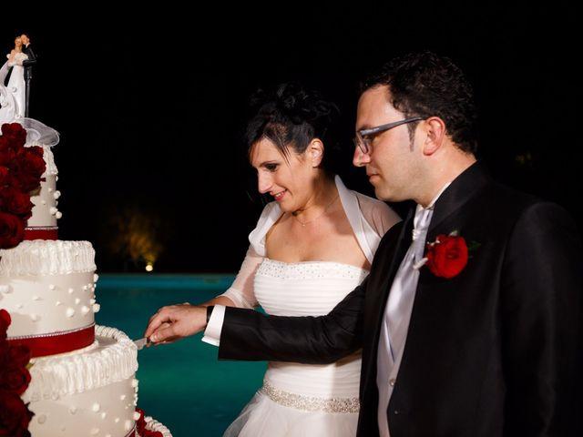 Il matrimonio di Antonio e Martina a Asciano, Siena 153