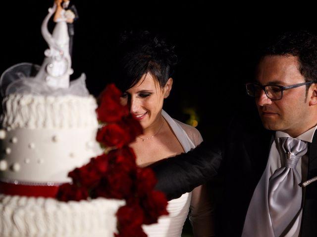 Il matrimonio di Antonio e Martina a Asciano, Siena 154