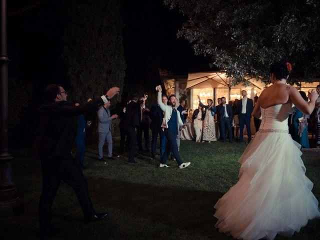 Il matrimonio di Antonio e Martina a Asciano, Siena 170