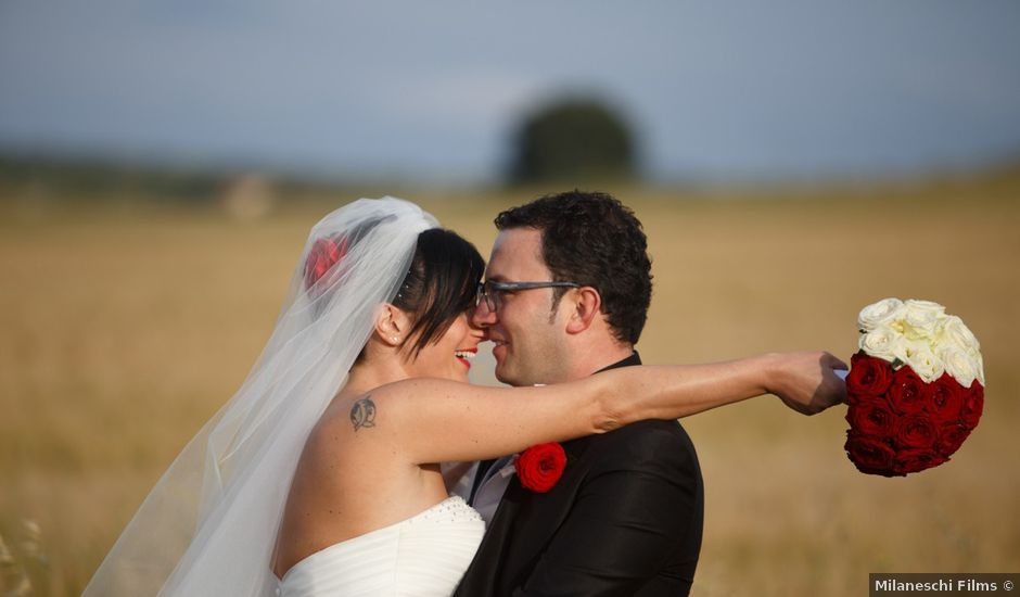 Il matrimonio di Antonio e Martina a Asciano, Siena
