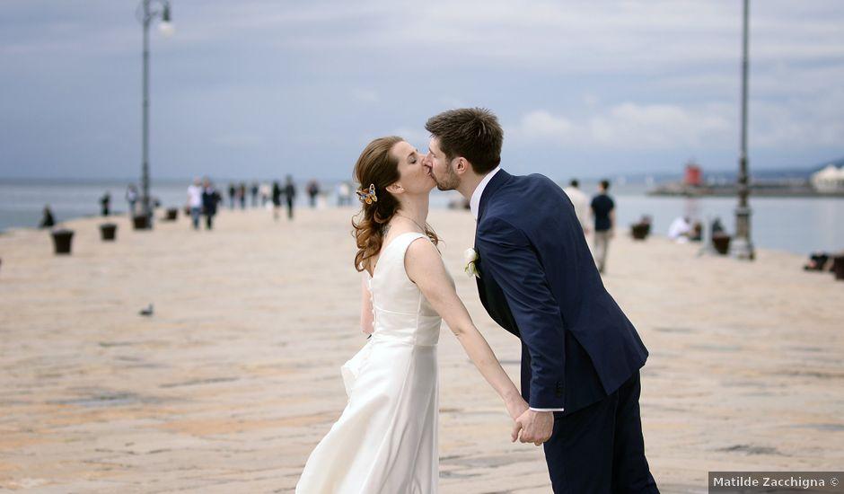Il matrimonio di Davide e Martina a Trieste, Trieste
