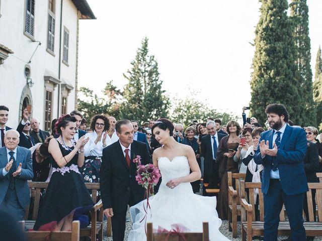 Il matrimonio di Lorenzo e Irene a Greve in Chianti, Firenze 37