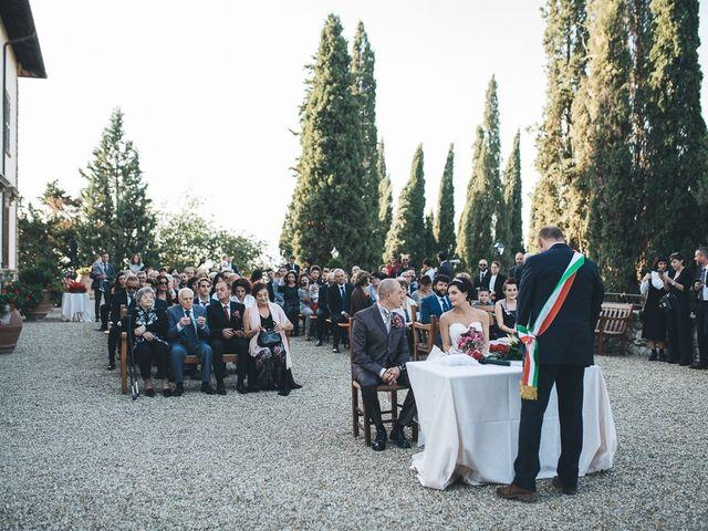 Il matrimonio di Lorenzo e Irene a Greve in Chianti, Firenze 39