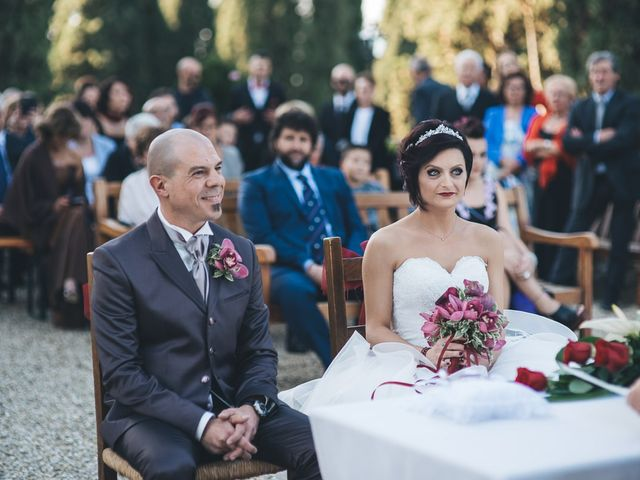 Il matrimonio di Lorenzo e Irene a Greve in Chianti, Firenze 41