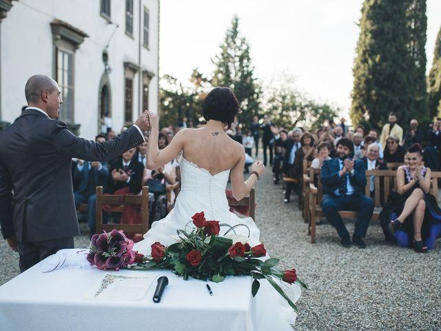 Il matrimonio di Lorenzo e Irene a Greve in Chianti, Firenze 42