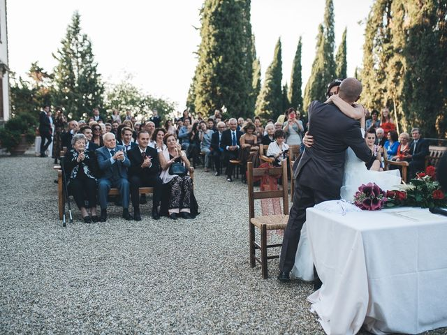 Il matrimonio di Lorenzo e Irene a Greve in Chianti, Firenze 43