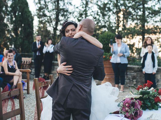 Il matrimonio di Lorenzo e Irene a Greve in Chianti, Firenze 44