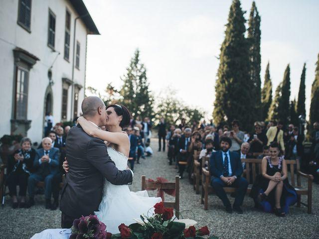 Il matrimonio di Lorenzo e Irene a Greve in Chianti, Firenze 45