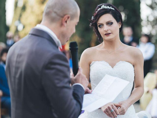 Il matrimonio di Lorenzo e Irene a Greve in Chianti, Firenze 46
