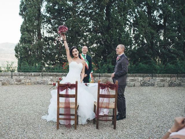 Il matrimonio di Lorenzo e Irene a Greve in Chianti, Firenze 47