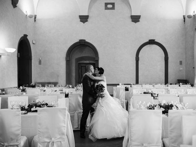 Il matrimonio di Lorenzo e Irene a Greve in Chianti, Firenze 48