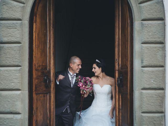 Il matrimonio di Lorenzo e Irene a Greve in Chianti, Firenze 49