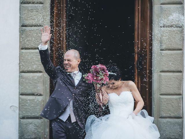 Il matrimonio di Lorenzo e Irene a Greve in Chianti, Firenze 50