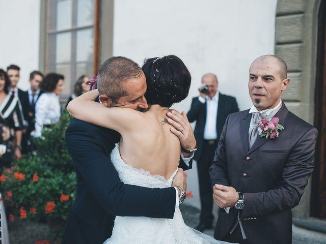 Il matrimonio di Lorenzo e Irene a Greve in Chianti, Firenze 51