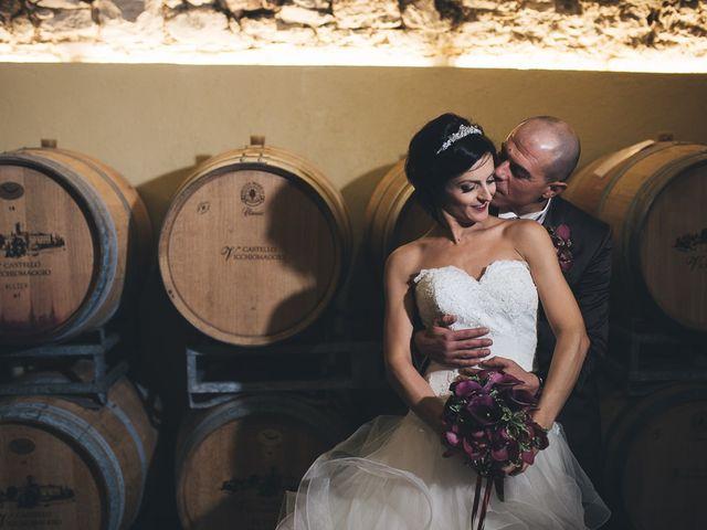 Il matrimonio di Lorenzo e Irene a Greve in Chianti, Firenze 65