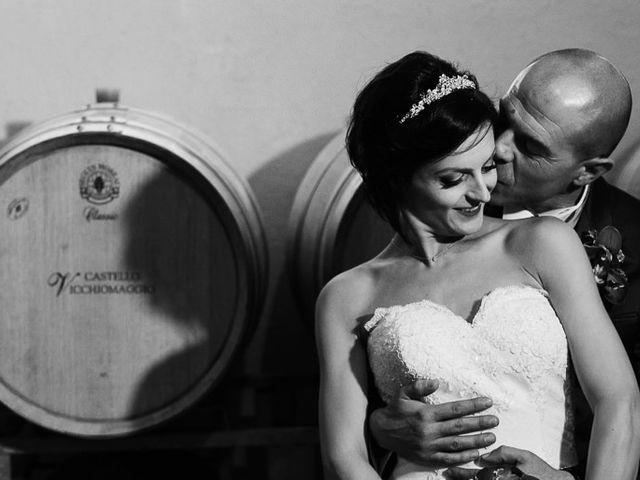 Il matrimonio di Lorenzo e Irene a Greve in Chianti, Firenze 66