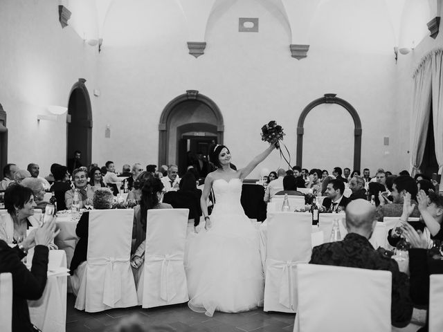 Il matrimonio di Lorenzo e Irene a Greve in Chianti, Firenze 69