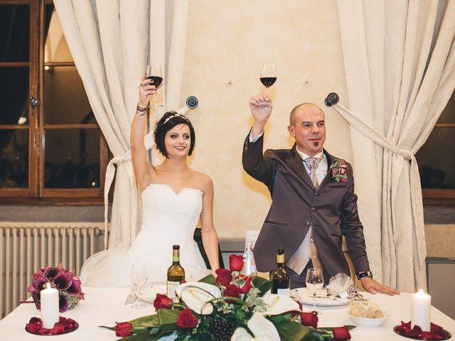 Il matrimonio di Lorenzo e Irene a Greve in Chianti, Firenze 71
