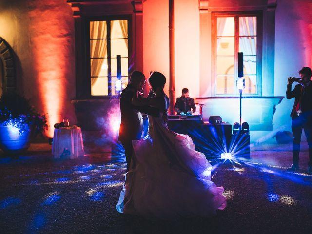 Il matrimonio di Lorenzo e Irene a Greve in Chianti, Firenze 80