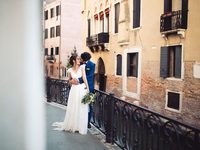 Il matrimonio di Enrico  e Arianna a Venezia, Venezia 50