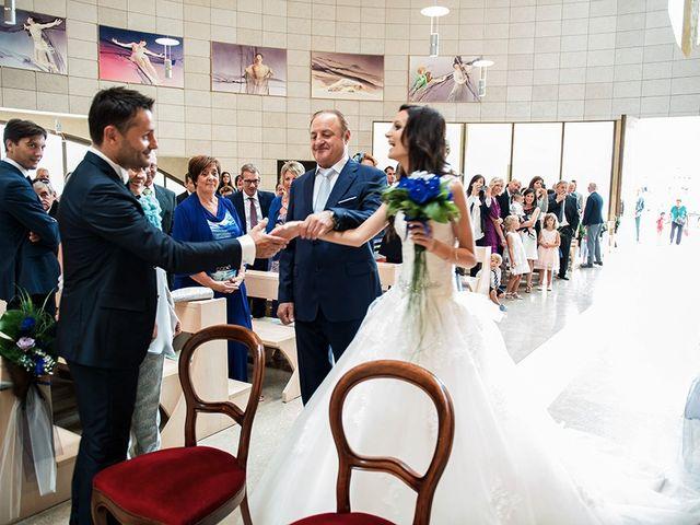Il matrimonio di Stefano e Clara a Grassobbio, Bergamo 21