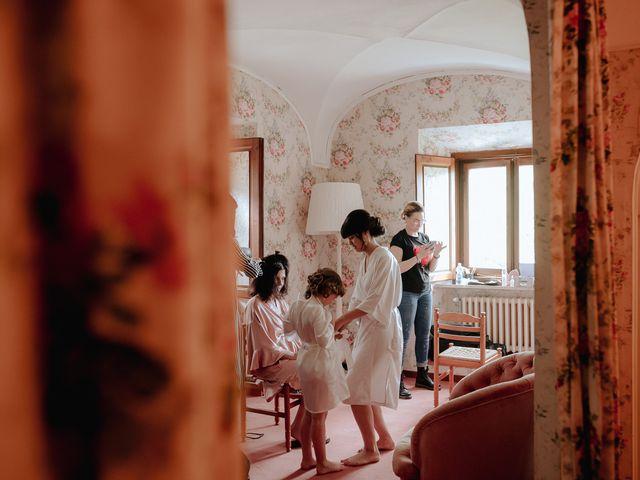 Il matrimonio di Geoff e Alison a San Gimignano, Siena 21