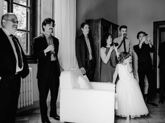 Il matrimonio di Geoff e Alison a San Gimignano, Siena 43