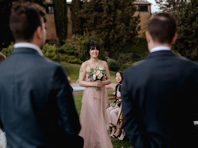 Il matrimonio di Geoff e Alison a San Gimignano, Siena 87