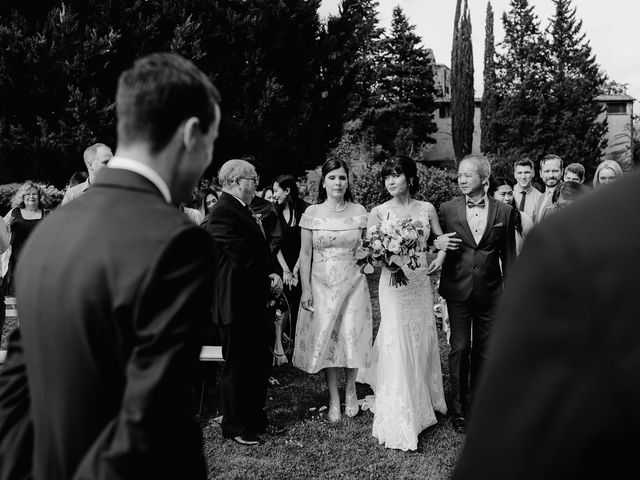 Il matrimonio di Geoff e Alison a San Gimignano, Siena 92