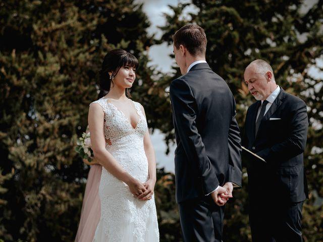 Il matrimonio di Geoff e Alison a San Gimignano, Siena 93