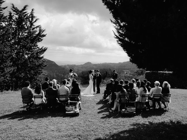 Il matrimonio di Geoff e Alison a San Gimignano, Siena 94