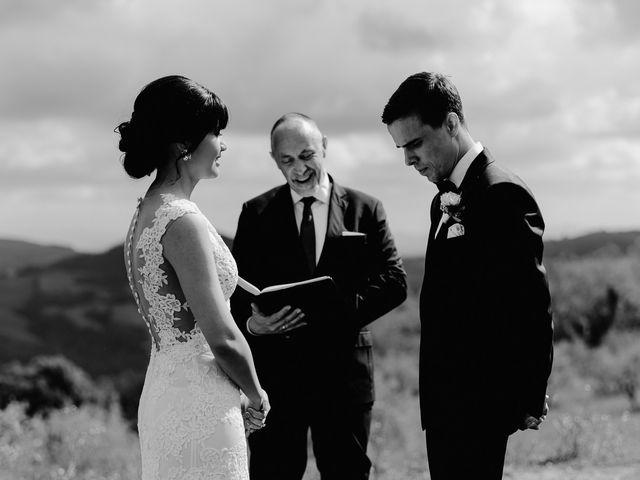 Il matrimonio di Geoff e Alison a San Gimignano, Siena 98