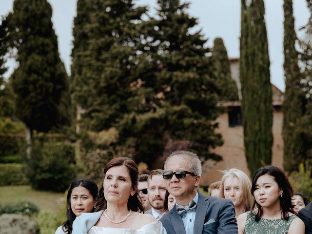 Il matrimonio di Geoff e Alison a San Gimignano, Siena 100