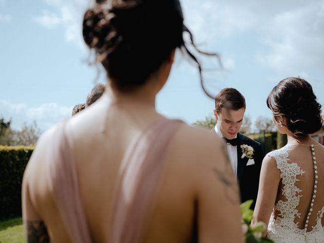 Il matrimonio di Geoff e Alison a San Gimignano, Siena 101