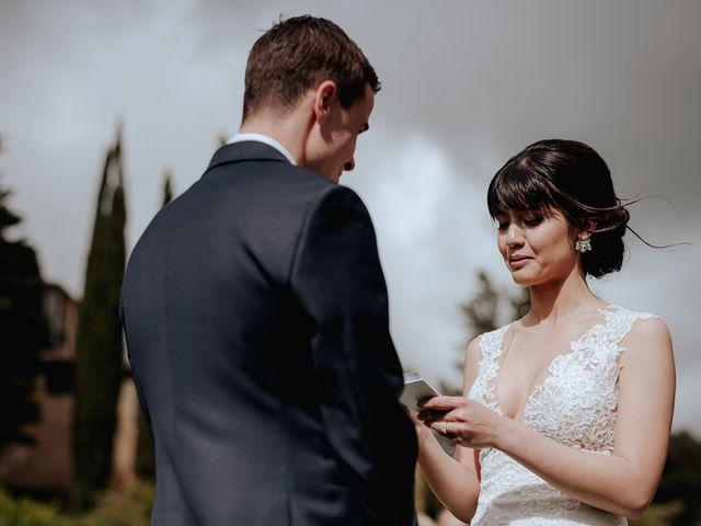 Il matrimonio di Geoff e Alison a San Gimignano, Siena 102