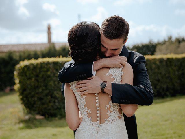 Il matrimonio di Geoff e Alison a San Gimignano, Siena 108