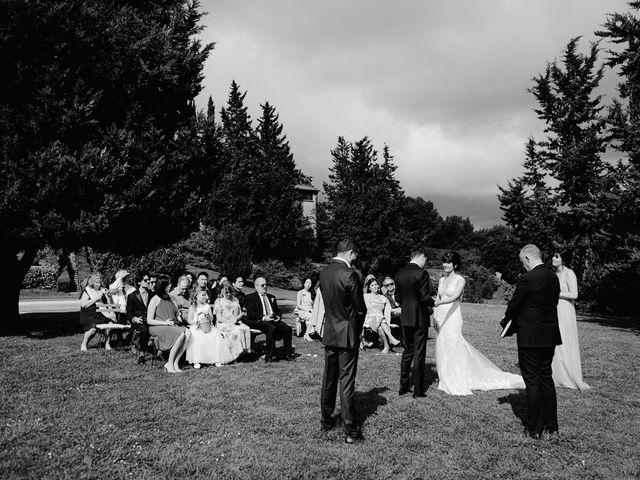 Il matrimonio di Geoff e Alison a San Gimignano, Siena 111