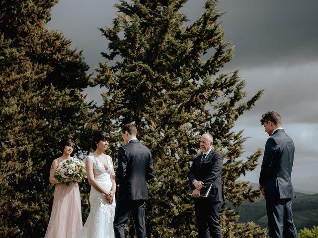 Il matrimonio di Geoff e Alison a San Gimignano, Siena 114